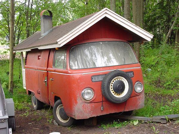 """Первая мобильная авто-сауна. Построена, что не удивительно, """"горячими финскими парнями"""""""
