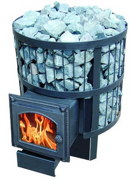 Печь с вынесенным топливным отсеком