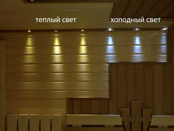 Светильники с желтым светом создают более благоприятную атмосферу