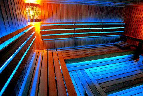 Светодиодные осветительные приборы для бани и парной