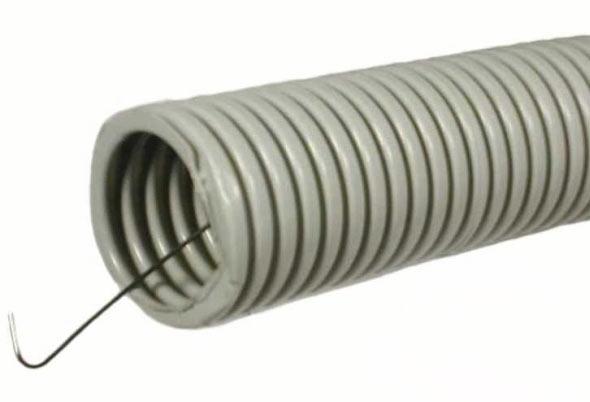 Гофрированная труба ПВХ с протяжкой