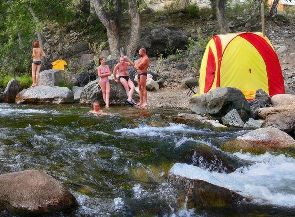 Палатка с печкой своими руками