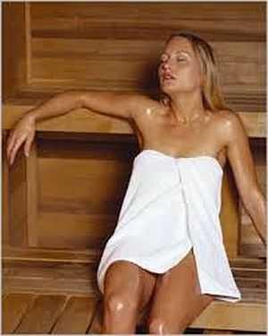 Активное потоотделение вызывает нанесение маски из соли и соды