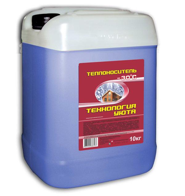 "Антифриз в канистрах по 10 литров для отопления ""Технология уюта"""