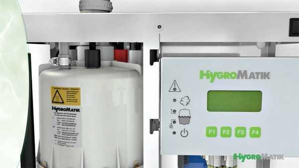 Внутреннее устройство парогенераторов Hygromatik