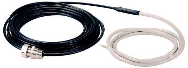 Греющие электронные кабели снаружи ничем не отличаются от кабелей связи