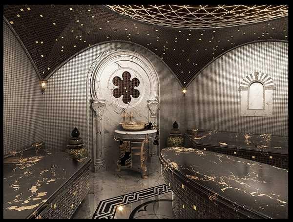 Хамам - это не только банные процедуры, но еще и эстетическое удовольствие