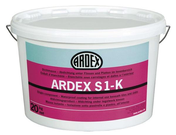 Герметик для бетонных полов ARDEX S 1-K