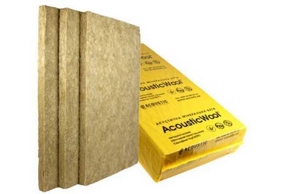 Базальтовая вата может выпускаться в виде плит или матов