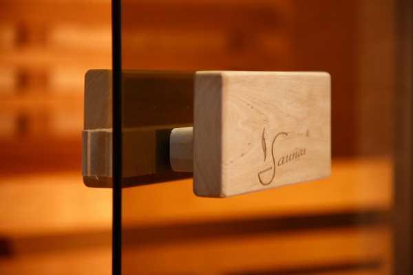 Фурнитура для стеклянных дверей в сауну