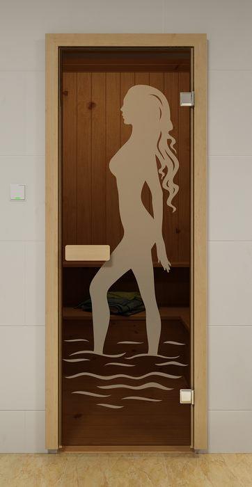 Стеклянная дверь фирмы ALDO (Россия). Цена около 9500 рублей