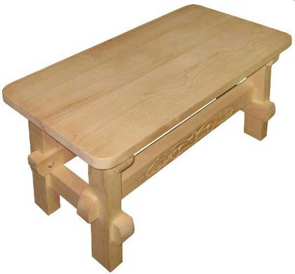 В парной следует использовать древесную породу не смолистых пород