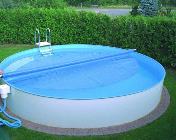 Маленькие бассейны в бане: переносной небольшой бассейн