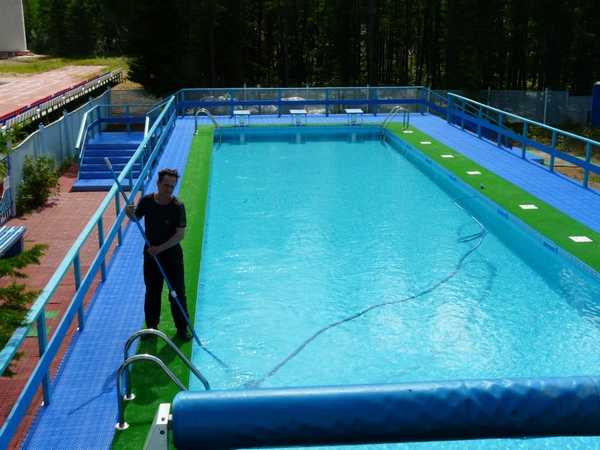 Полипропиленовый бассейн: установка своими руками