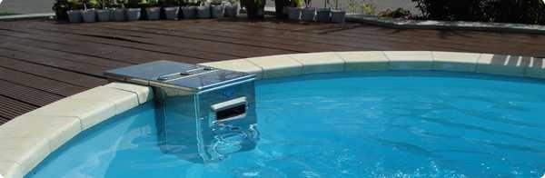 Навесные насосы не требуют установки форсунок в стенках чаши бассейна