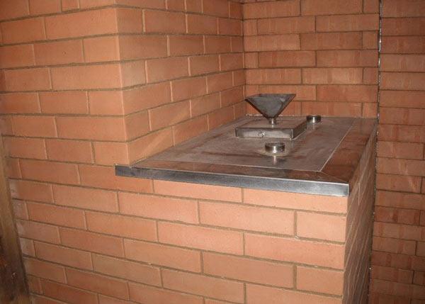 8.БИК - печь Кузнецова с вмонтированным парогенератором. Вода заливается в воронку при помощи ковша