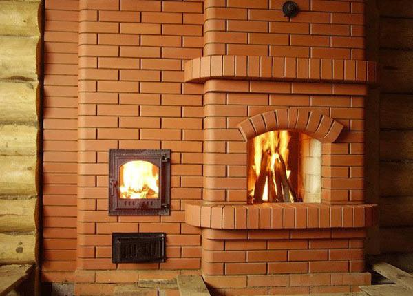 Модель 19. БИК-К - красивая кирпичная печь для бани Кузнецова