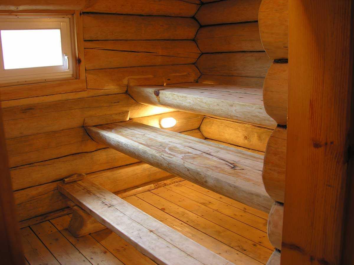 Деревенская баня своими руками внутри