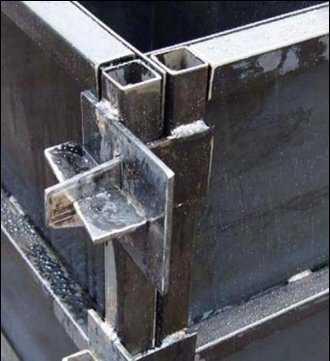Металлический каркас даст фундаменту необыкновенную стойкость