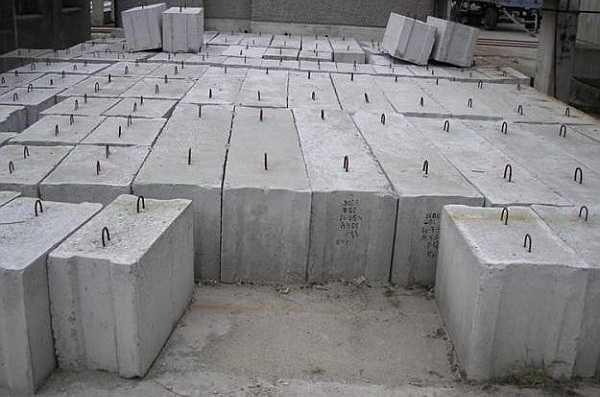 Железобетонные фундаментные блоки относятся к категории томных