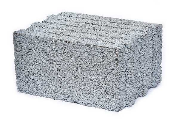 Керамзитобетон имеет соответствующую неровную поверхность
