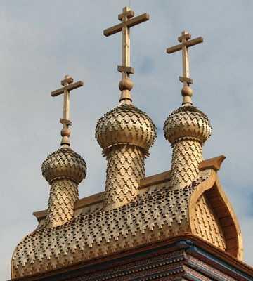 Купола, крытые лемехом