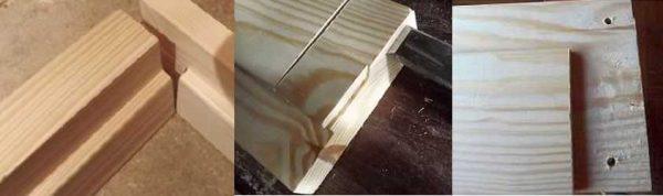 Порядок производства притолоки дверной коробки