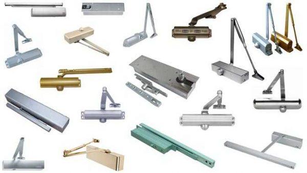 Дверные доводчики могут быть разного типа, вида и цвета