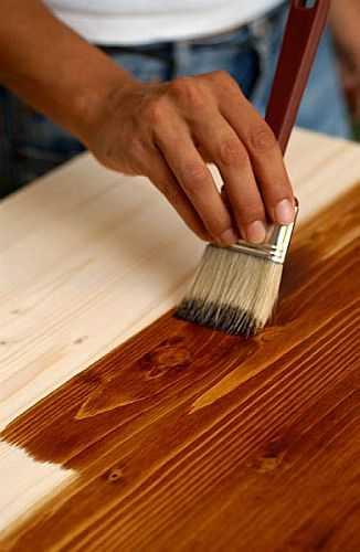 Морилки служат для тонирования древесины