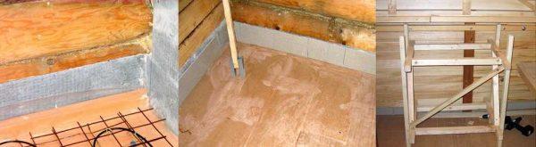 Как сделать плинтус из керамической плитки в бане