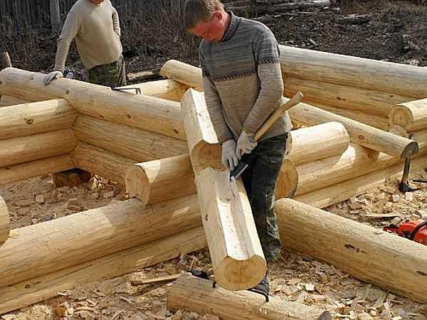 Строить из сруба своими руками