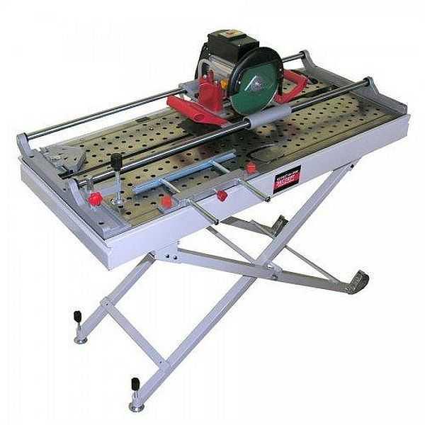 Электронный плиткорез Корвет Эксперт 464-860М т/з. Мощность 800 Вт, толщина плитки до 20 мм