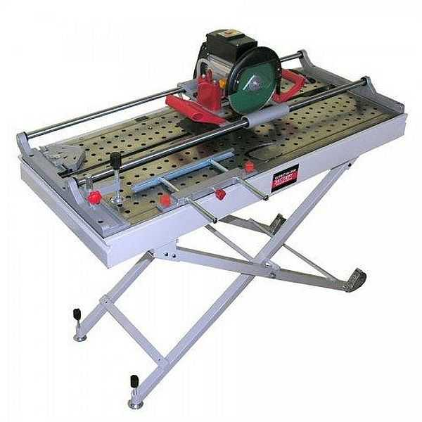 Электрический плиткорез Корвет Эксперт 464-860М т/з. Мощность 800 Вт, толщина плитки до 20 мм