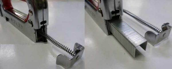 Механические степлеры  хороши при небольших объемах работКак вставить скобы в механический степлер