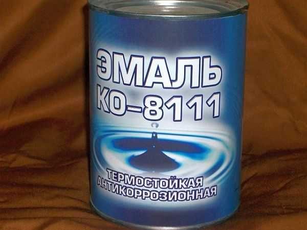Термокраска КО-8111 и КО-8101 выпускается в банках