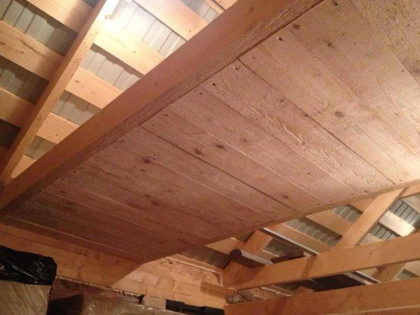 Подбиваем потолок недорого