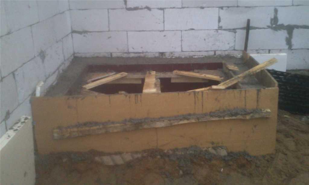 Бани из бетона своими руками 73