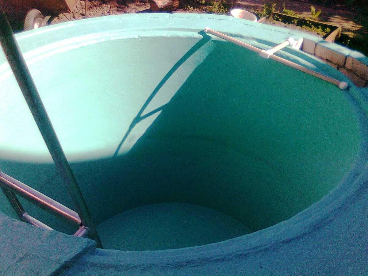 Сделать бассейн для купания своими руками