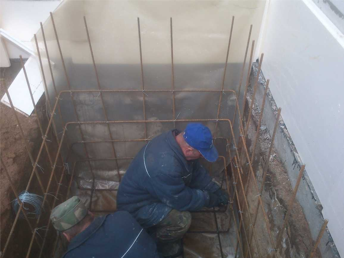 Бани из бетона своими руками 89