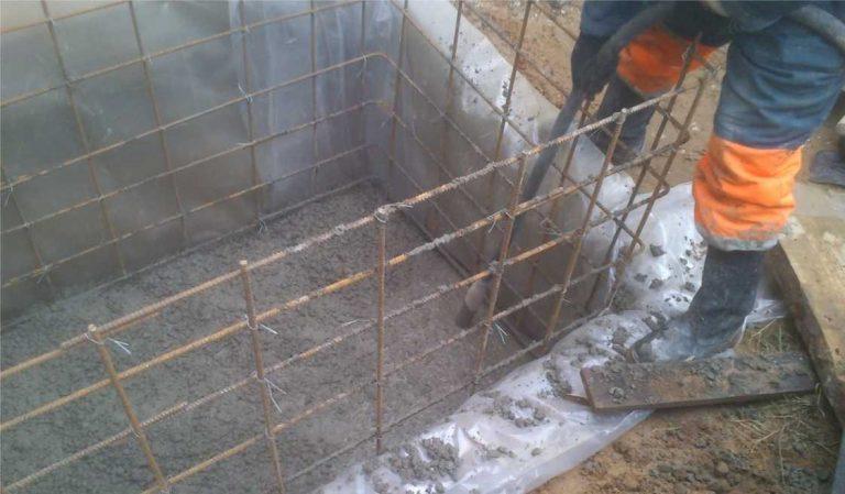 Купель своими руками из бетона