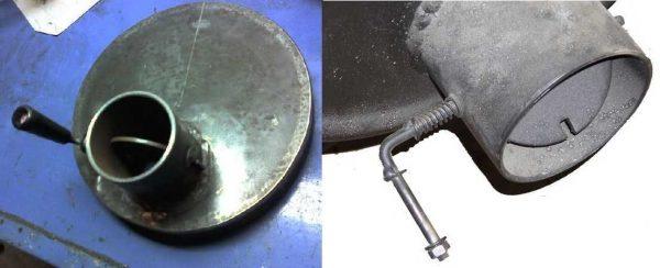 Печь для бани из баллона, колесных дисков, фото, видео