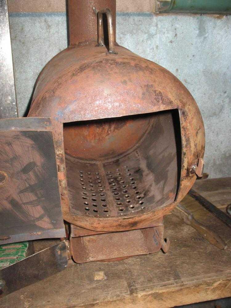 Как сделать простую печь для гаража