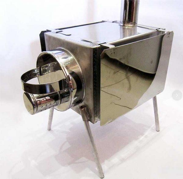 Мобильная баня с печкой