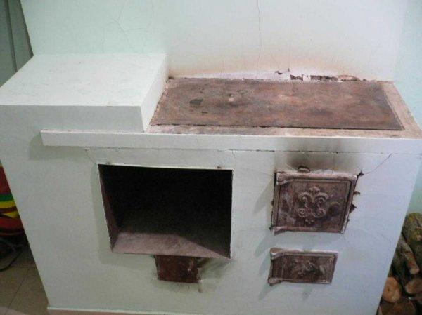 Как отреставрировать старую печь своими руками 91