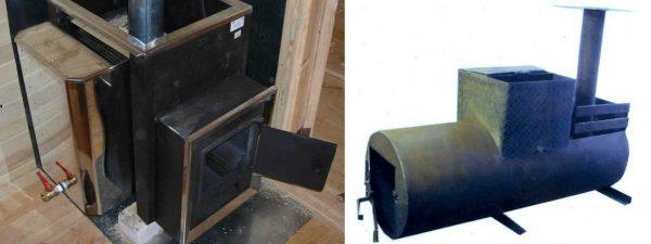 Самодельные печи для бани: особенности конструкций