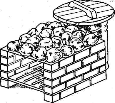 Вариант печи по-черному с бочкой вместо задней стенки