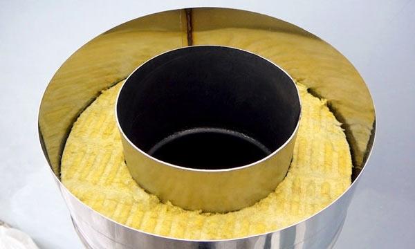 Сэндвич труба - идеальный вариант для обустройства дымохода бани