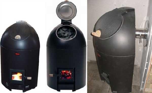 Дровяная печь-термос из Финляндии Ukkotonttu тоже может использоваться в русской бане
