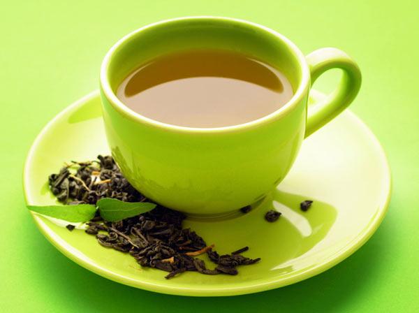Зеленый чай - лучший напиток для бани