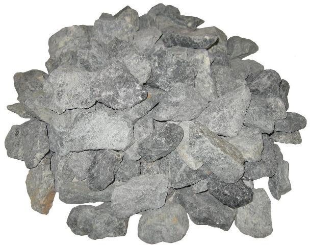 Диабаз - наиболее бюджетный вариант камней для бани и сауны